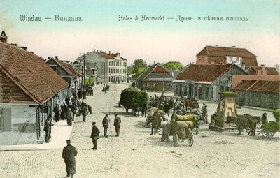Ventspils. Malkas un siena tirgus