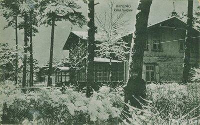 Ventspils. Villa Nodiev.