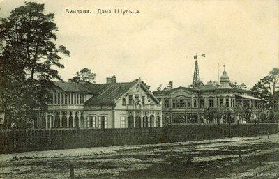 Ventspils. Villa Šulc.