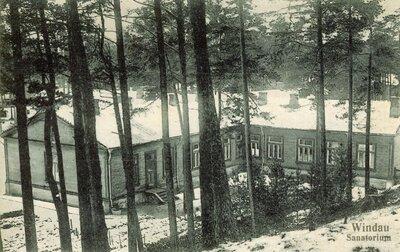 Ventspils. Kaulu tuberkolozes sanatorija