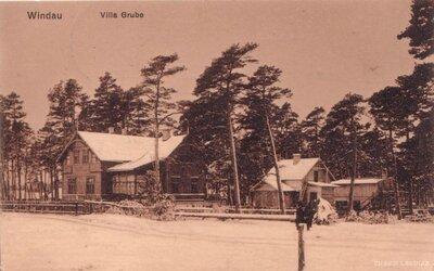 Ventspils. Villa Grube