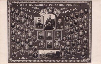 2. Ventspils kājnieku pulka instruktoru rotas izlaidums
