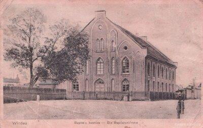 Ventspils. Baptistu baznīca