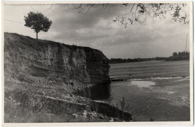 Daugava pie Pļaviņām. Lorelejas klints
