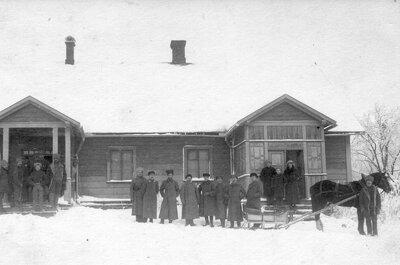 Odzienas pagasta Rušēni Pirmā pasaules kara laikā