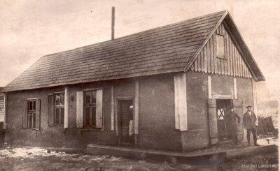 Odzienas 1. piensaimnieku sabiedrības Bites pienotavas pirmā ēka
