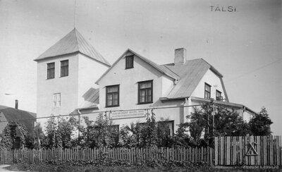 Nurmuižas pagasts. Tīca Dzintarkalna māja Dzintari