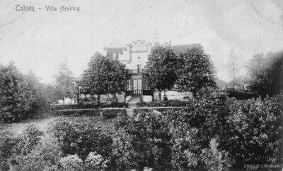 Talsi. Fon Heikingu nams Dzirnavkalna virsotnē