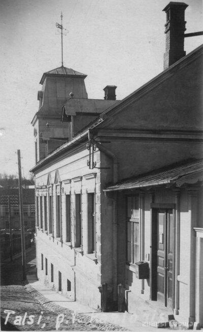 Talsi. Gustava Blāzes nams