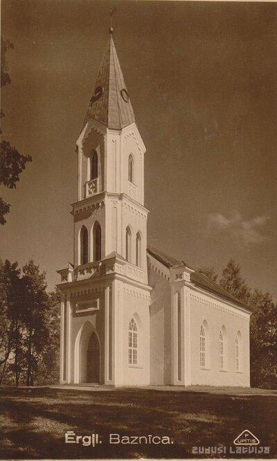 Ērgļu luterāņu baznīca