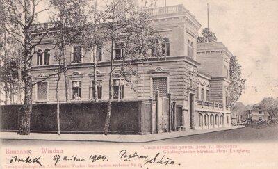 Ventspils. Villa Langberg