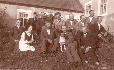 Vietalvas piensaimnieku sabiedrības Veseta darbinieki 1930. gadā