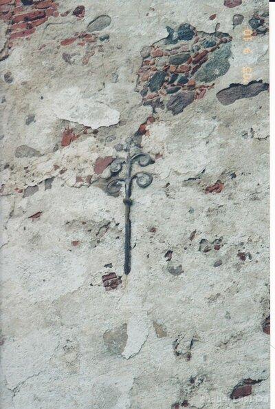 Embūtes luterāņu baznīca. Sienas rotājums