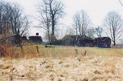 Asītes Bagas muižas ēku drupas