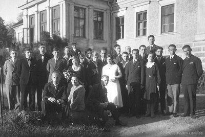 Valsts Talsu ģimnāzijas 1931. gada absolventi