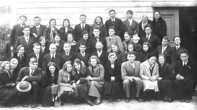 Talsu baptistu draudze ar viesiem