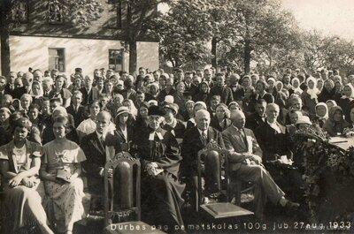 Durbes pagasta pamatskolas 100 gadu jubileja