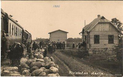 Aiviekstes dzelzceļa stacija