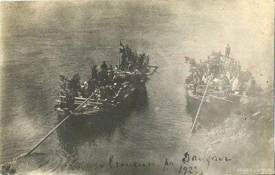 Pļaviņas. Brauciens laivās pa Daugavu