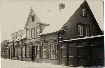 Rīga. Āgenskalns. Ēka Nometņu ielā 16