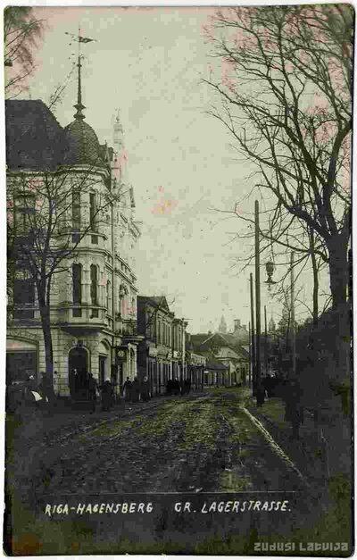 Rīga. Āgenskalns. Nometņu iela