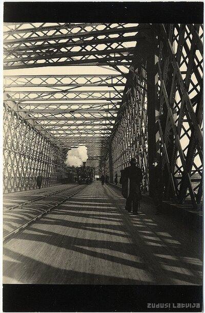 Rīga. Dzelzceļa (Dzelzs) tilts