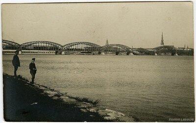 Rīga. Dzelzceļa tilti