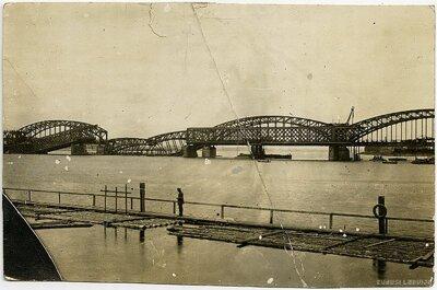 Rīga. Saspridzinātie dzelzceļa tilti