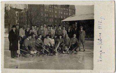Latvijas hokeja izlase. Spēle Latvija - Lietuva