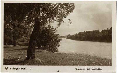 Daugava pie Lokstenes pilskalna