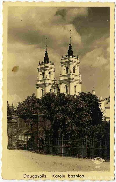 Daugavpils Vissvētākās Jaunavas Marijas Bezvainīgās Ieņemšanas katoļu baznīca