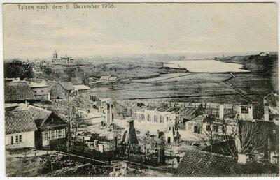 Talsi 1905. gada 5. decembrī