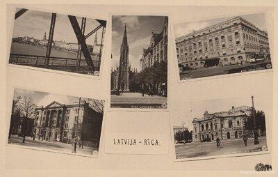 Rīga. Fotokolāža