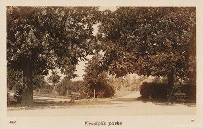 Krustpils pilsētas parks