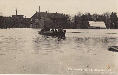 Jēkabpils 1931. gada plūdos