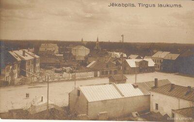 Jēkabpils. Tirgus laukums