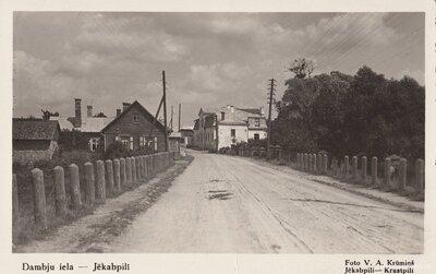 Jēkabpils. Dambju iela