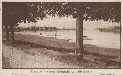 Daugava starp Krustpili un Jēkabpili