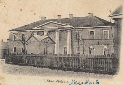 Jēkabpils. Apriņķa skola