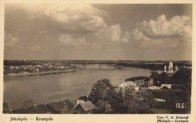 Jēkabpils un Krustpils