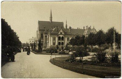 Rīga. Latvijas Mākslas akadēmijas ēka