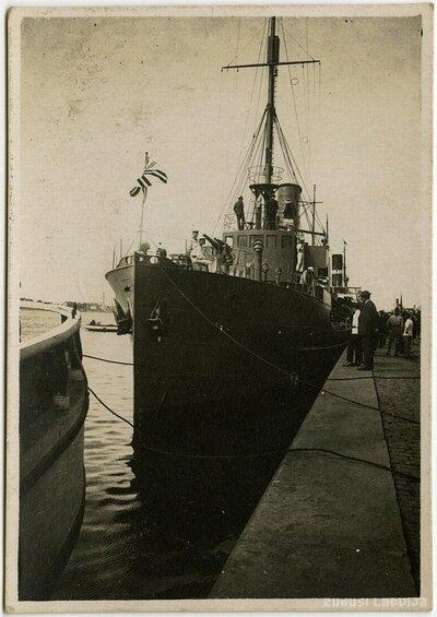 Latvijas kara flotes kuģis