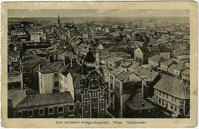 Jelgava. Pilsētas skats
