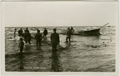 Jūrmala. Zvejnieki