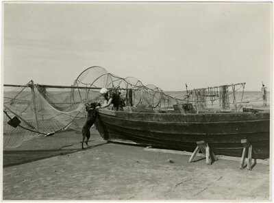 Jūrmala. Zvejas laiva