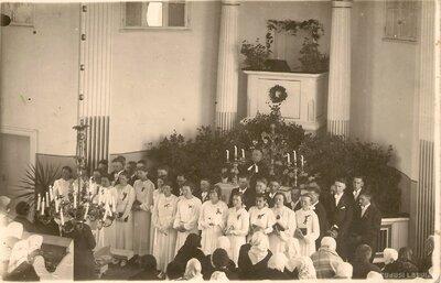 Liezeres luterāņu baznīca. Iesvētības