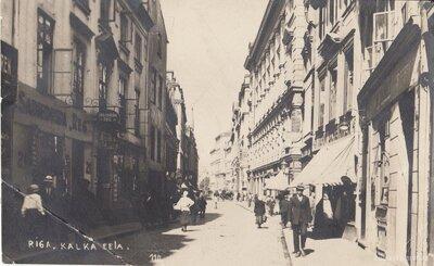 Rīga. Kaļķu iela