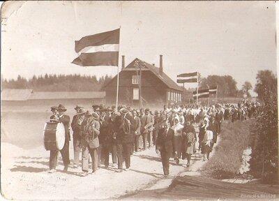 Liezere. 1934.gada maija gājiens