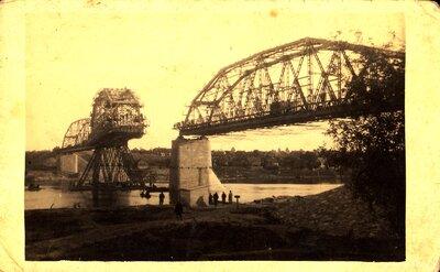 Krustpils-Jēkabpils tilta būve