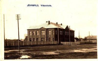 Jēkabpils. Vidusskola